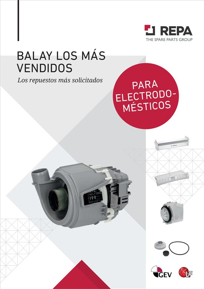 BALAY BEST SELLERS SPAIN 10/2020