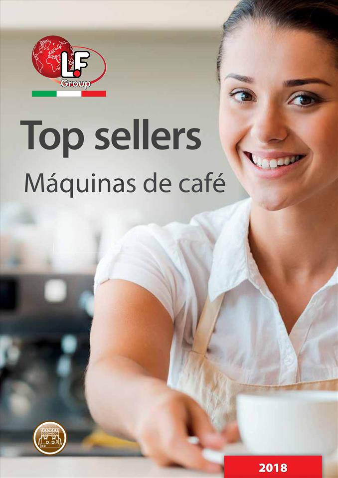 Top sellers - Máquinas de café 01/2018